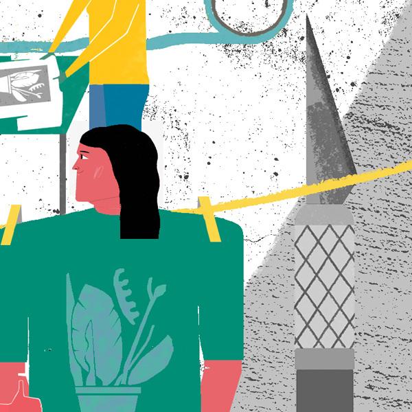 Wired Magazine - \'How to\' - Raj Dhunna Illustration