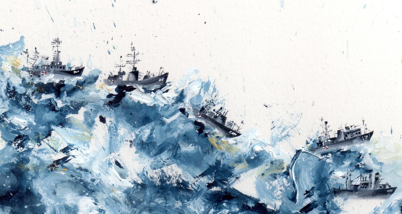 Sea Disasters - Lucy Eldridge Illustration